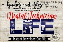 Dental Technician Life svg/eps/dxf File Product Image 1