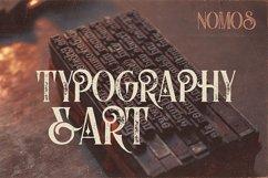 Nomos Typeface Product Image 2