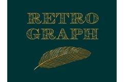 Retroghaph font Product Image 4