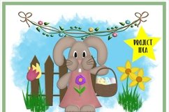 Spring Easter Elements PNG for Sublimation Product Image 2