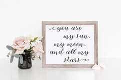 Cherokee Rose Calligraphy Script Product Image 4