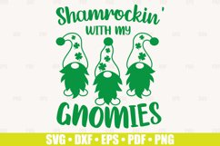 Shamrockin SVG files for Cricut | Gnomies SVG St Patrick's Product Image 2