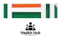 Health Hub - Fitness Group Stock Logo Design for Gym & Club Product Image 3