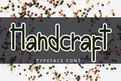 Handcraft - Modern Handwritten Font Product Image 1