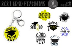 2021 Graduation Keychain Bundle, SVG Product Image 1
