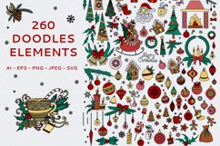 Christmas Doodles Product Image 2