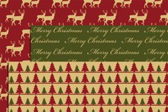Vintage Christmas Digital Papers Product Image 3
