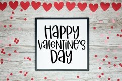 Web Font Little Miss Valentine - A Hand-Lettered Valentine's Product Image 3
