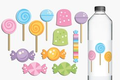 Lollipops and sweets illustrations Product Image 1