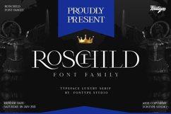 Roschild - Serif Font Family Product Image 1