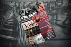 GYM FLYER TEMPLATE | Gym Club Template | Photoshop Template Product Image 2