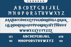 Caravan - Display Font Product Image 4