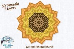 3D Mandala Bundle | 3D Layered Mandala SVG Bundle Product Image 5