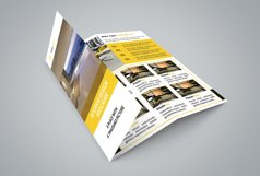 Interior Design Trifold Brochure Product Image 5