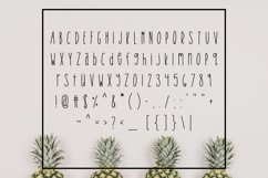 Tropical Trouble - Tall and Skinny Handwritten Font Product Image 2