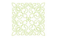 Quilt Block Stipple 13 - Machine Embroidery Design in 3 size Product Image 1