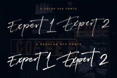 Expert Brush & SVG Font Product Image 3