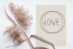 Love Valentines svg color font Product Image 5
