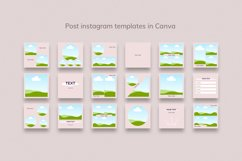 Instagram Bundle. Universal Beauty Canva Instagram Templates Product Image 5