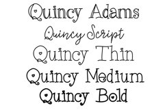 Quincy Adams - A Sweet Hand Written Font Product Image 4