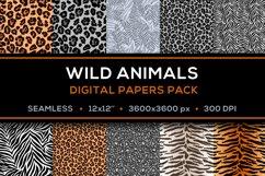 Safari Digital Papers - Pack of 10 JPG 12x12 Product Image 1