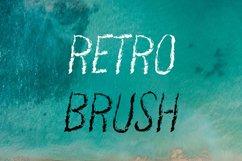 Vintage Dry Brush Font Product Image 5