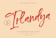 Irlandya - Handwritten font Product Image 1
