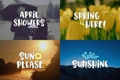 Hello Spring Font Product Image 5