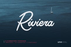 Riviera - Signature Font Product Image 1