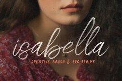 Isabella SVG Script Font Product Image 1