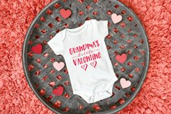 Mommy & Daddy's Little Valentine   Valentines Day SVG Bundle Product Image 4