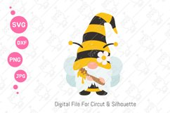 Cute Bumble Bee Gnomes svg | Gnomes Honey png| svg png dxf Product Image 2