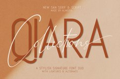 Qiara Collections Font Duo Product Image 1