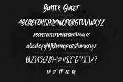 Butter Sweet Typeface Product Image 4