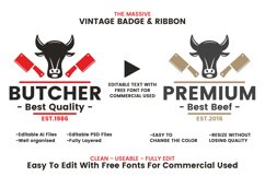 71 VINTAGE BADGE & RIBBON Vol.7 Product Image 2