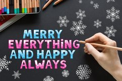 SNOW - Font Family for Christmas! Product Image 5