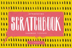 Scratchbook Typeface Product Image 1