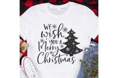 We wish you a Merry Christmas Svg, Christmas Svg, Christmas Product Image 3