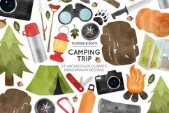 Camping Cliparts Product Image 1