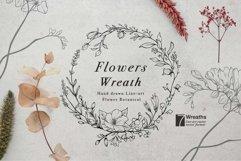 WILD FLOWERS Illustration Botanical Product Image 5