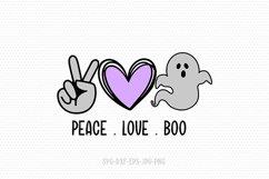 Halloween SVG bundle | fall svg | peace love svg bundle Product Image 5