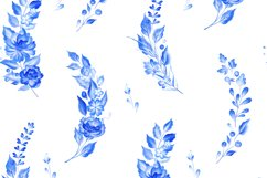 Blue Romance. Watercolor collection. Product Image 4