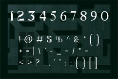 Matrix   Modern Serif Product Image 4