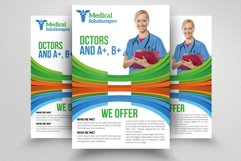 Medical Flyer Template Product Image 1