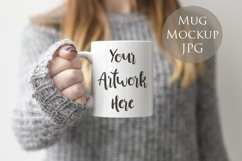 4 Mug Mockups - winter jumpers theme Product Image 3