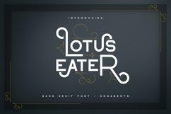 Lotus Eater - sans serif font Product Image 1
