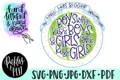 pride svg - the world has bigger problems - lgbtq svg Product Image 1