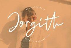 Web Font Jorgith - A Handwritten Script Font Product Image 1
