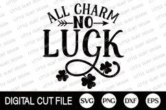 St Patricks Day Svg, Shamrock Svg, Lucky Dxf, Clover Shirt Product Image 2