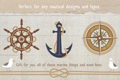 Marine Rope Pattern Brushes Set Product Image 5